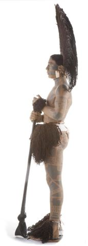 FE012002; Marquesan warrior model ; view 05 (image/tiff)