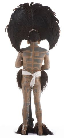 FE012002; Marquesan warrior model ; view 06 (image/tiff)