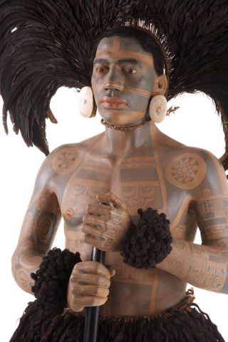 FE012002; Marquesan warrior model ; view 09 (image/tiff)