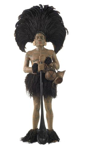 FE012002; Marquesan warrior model ; view 31 (image/tiff)