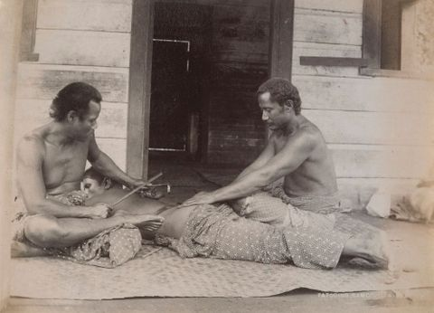 Tattooing, Samoa