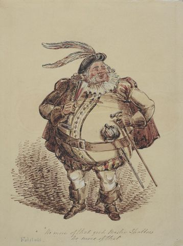 1957-0009-302; Falstaff; Heath, William ; without frame (image/jpeg)