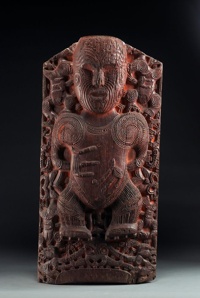 Kuwaha Pataka (carved figure) | Collections Online - Museum