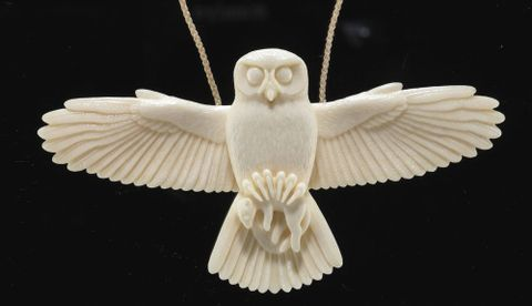 Morepork necklace