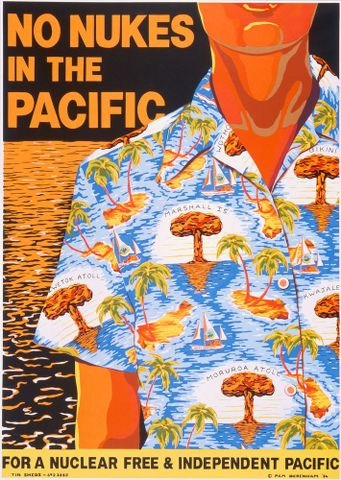 Debenham, Pam; No Nukes in the Pacific - 1988-9-2; unknown ; cropped;; (image/jpeg)