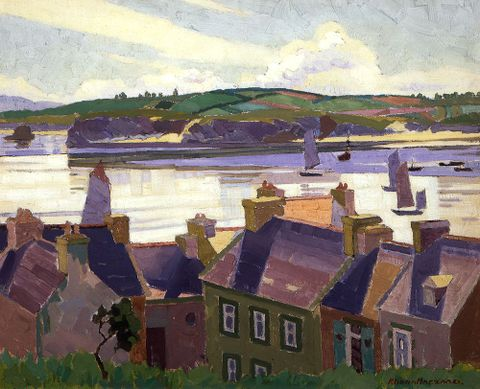 "Haszard, Rhona ""Morning calm, Camaret"" 1926; 1936-0012-279; unknown ; cropped;; (image/tiff)"