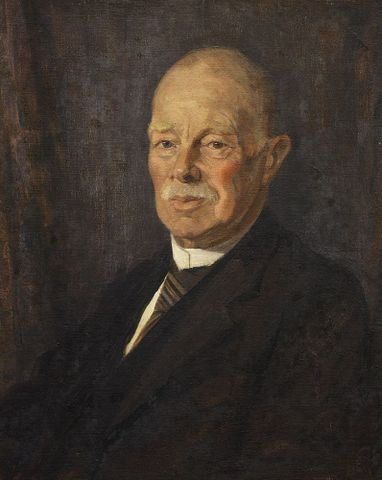 Tripe, Mary Elizabeth R - Portrait of George Vernon Hudson - 1982-0086-1; cropped (image/jpeg)