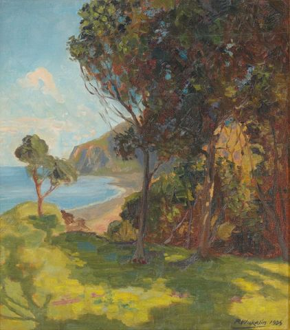 2006-0007-7; A summer's day, East Coast;1905; Wakelin, Roland; cropped (image/jpeg)