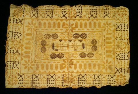 Tapa'i ngatu (tapa cloth)