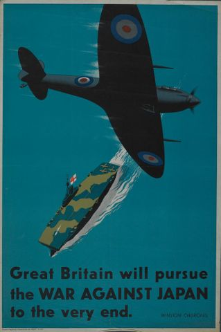 Poster, 'Great Britain will pursue'
