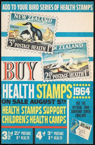 Poster, 'Add To Your Bird Series Of Health Stamps'