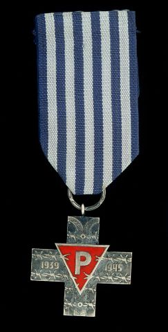 Medal with ribbon, 1995 - GH004971; cropped (image/jpeg)